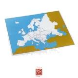 Carte de contrôle muette Europe