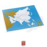 Carte de contrôle muette Asie