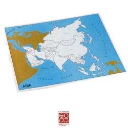 Carte de contrôle Asie (anglais)