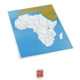 Carte de contrôle muette Afrique