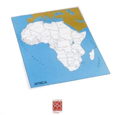 Carte de contrôle Afrique (anglais)