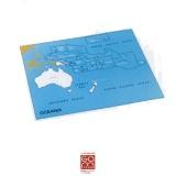Carte de contrôle Océanie - Pacifique (anglais)