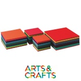 Pack 240 craft 140 gr - 12 couleurs assorties - 16 x 16 cm