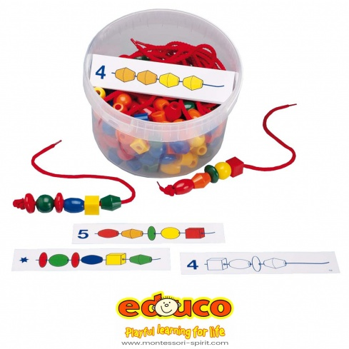 Beads counting game
