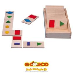 Shape dominoes