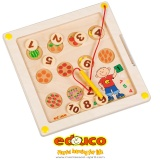 Motor skills board counting fruit