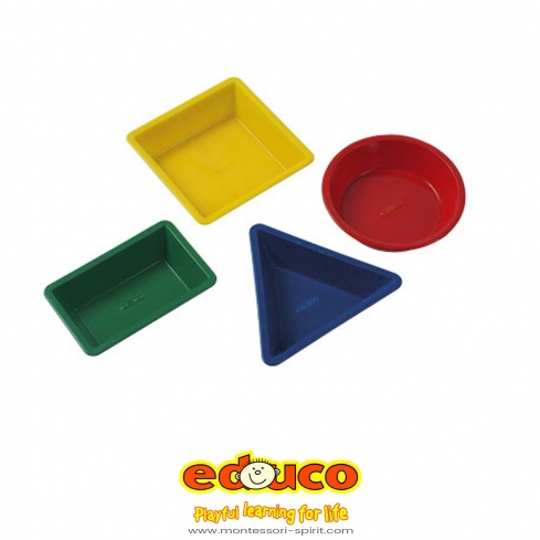 Geometric sand shapes