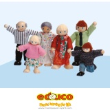 Dolls house family