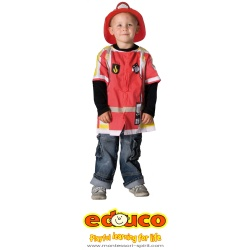 Fireman (excluding helmet)