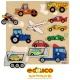 Inlay board - vehicles
