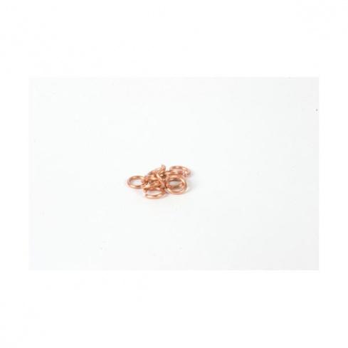 Anneaux cuivre pour chaînes (x10)