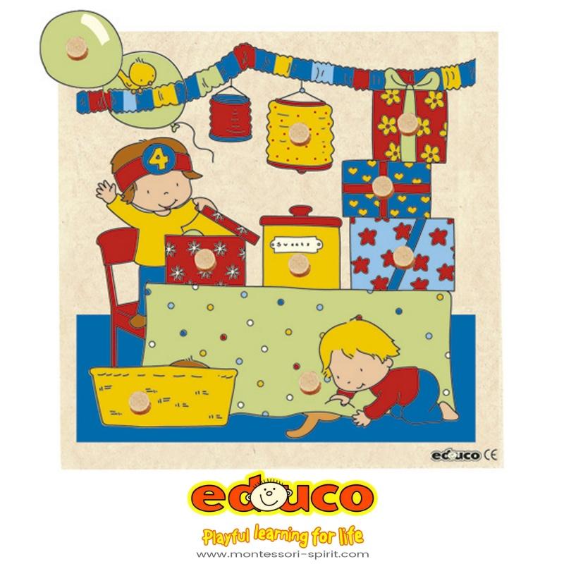 Surprise Inlay Board Living Room Montessori Spirit