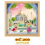 Wonders of the world puzzle - Taj Mahal