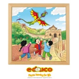 Wonders of the world puzzle - Chinese wall