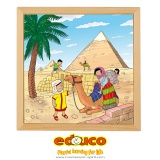 Wonders of the world puzzle - Pyramid of Cheops
