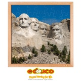 USA puzzle - Mount rushmore (49 pieces)
