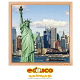 USA puzzle - Statue of liberty (64 pieces)