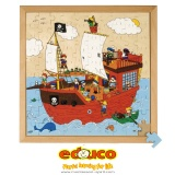 Series 100 puzzles - pirate ship