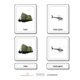 Transportation 3 Part Cards