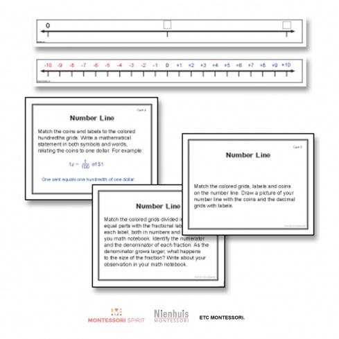 Number Line Extensions Level 9-12