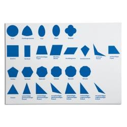 Kontrollkarte für die geometrische Kommode